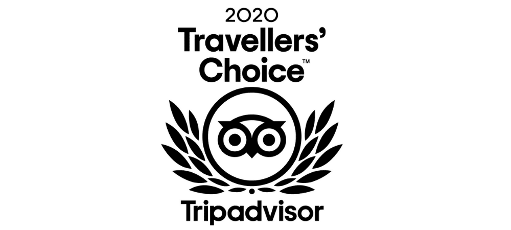 Attestation d'excellence Tripadvisor 2020